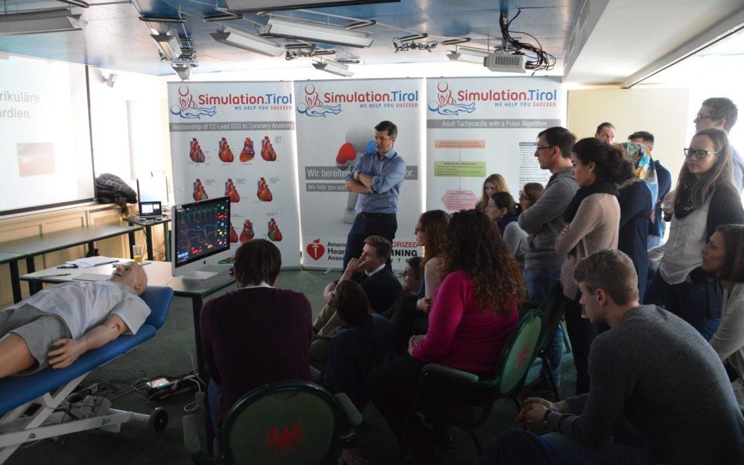 Interaktiver EKG Kurs Dank Simulation.Tirol