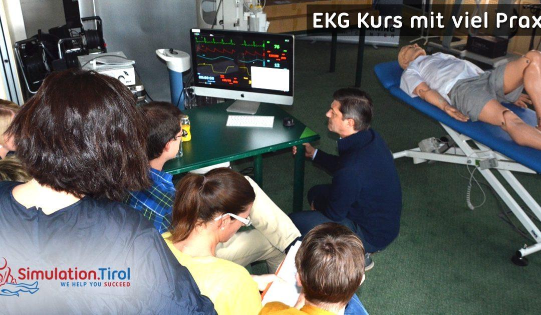 EKG Kurs am Simulator – ein Bericht