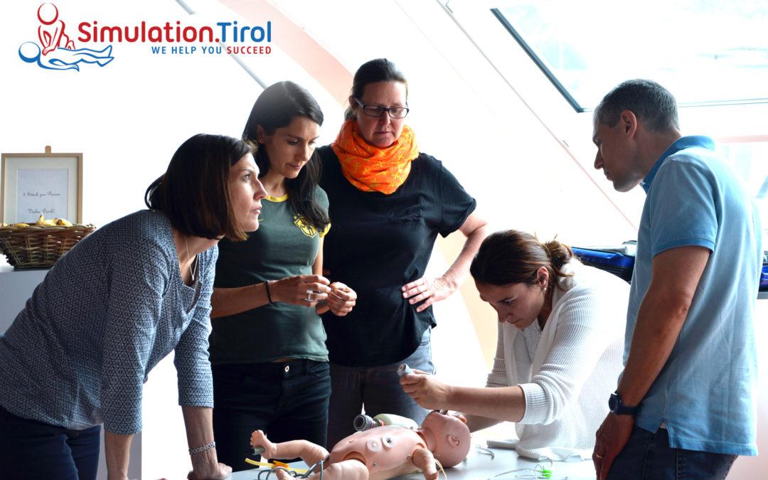 Der Kindernotfalltag beim heurigen Notarztkurs in der Tiroler Ärztekammer verlief dieses Jahr ungewohnt anders: