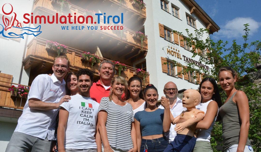 Training im schönen 5 Stern Hotel Tannenhof in St. Anton