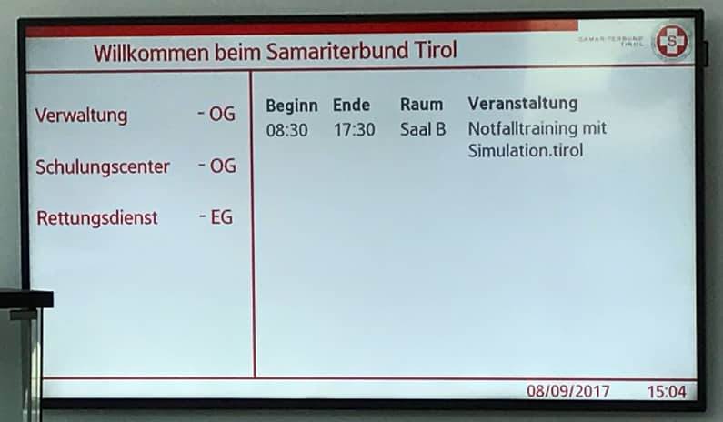 samariterbund ordinationstraining
