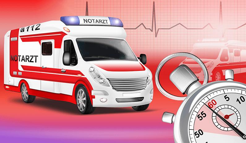 Wie du einen Brandverletzten im Notfall präklinisch versorgst