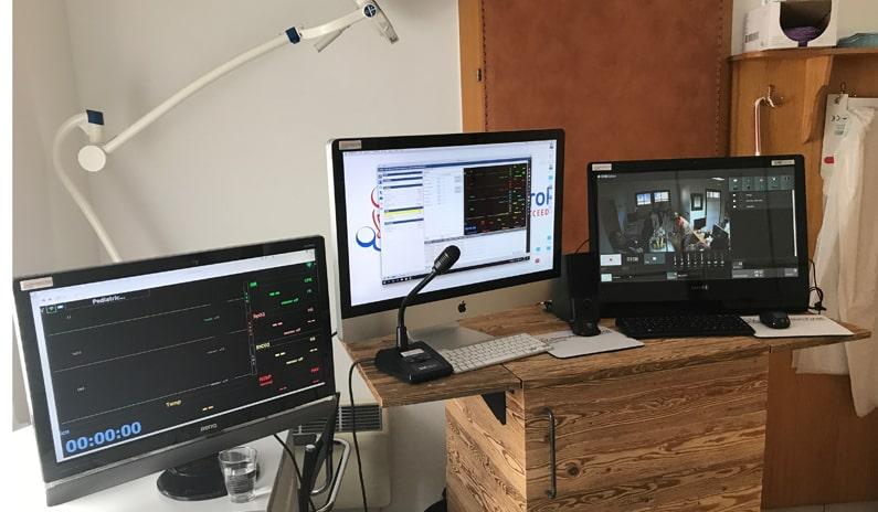 Steuerungszentrale Simulation