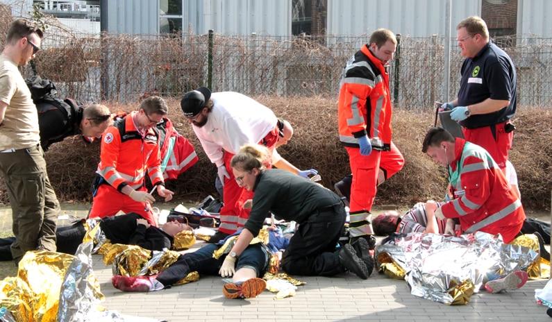 autobombe taktische medizin