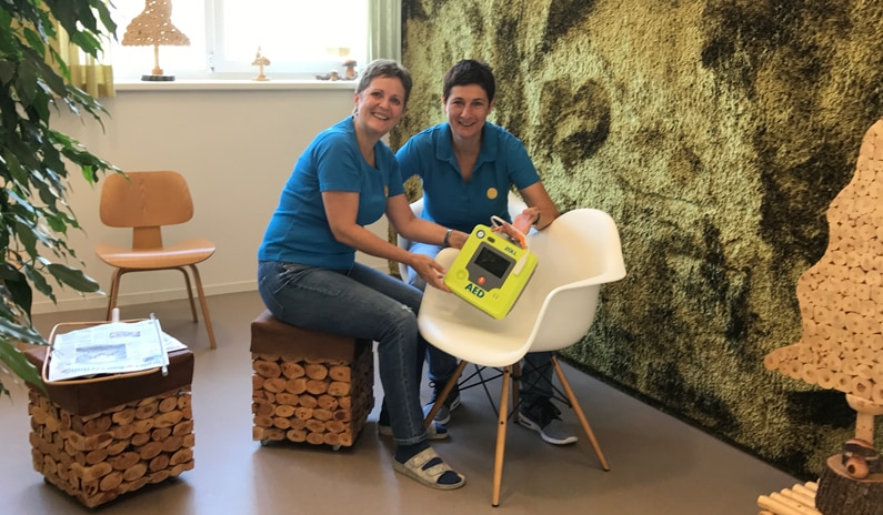 Warum sich Tanja für einen neuen Defibrillator entschieden hat
