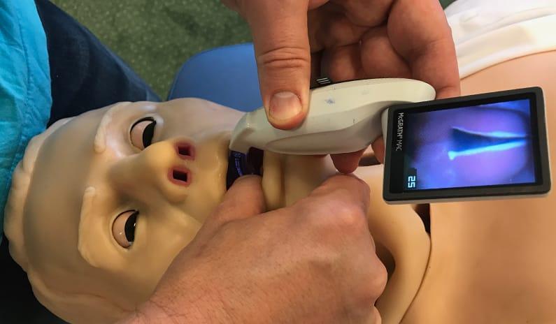Videolaryngoskopie