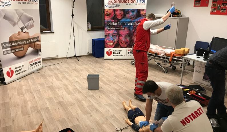 Training Rotes Kreuz