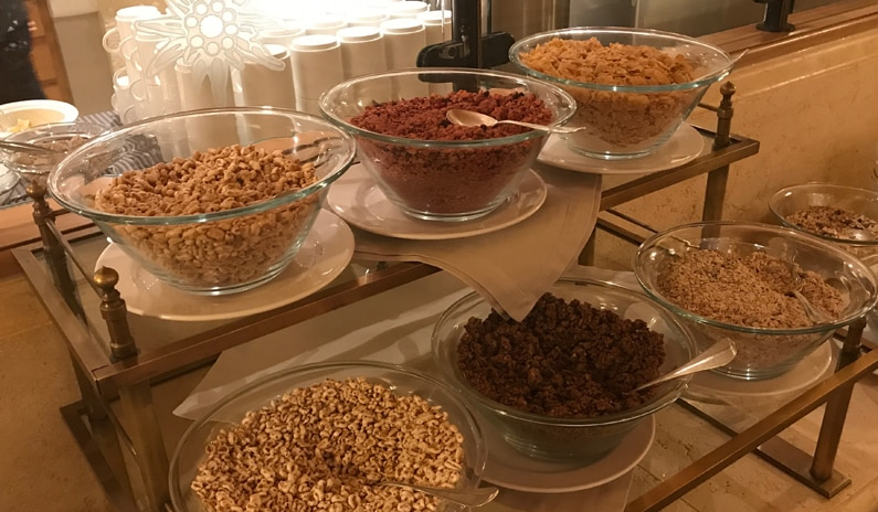 Frühstück Edelweiss Gurgl