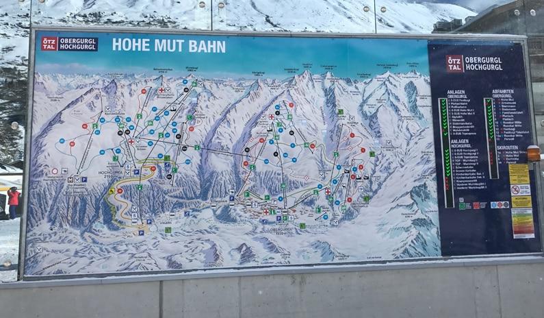 angrenzendes Skigebiet