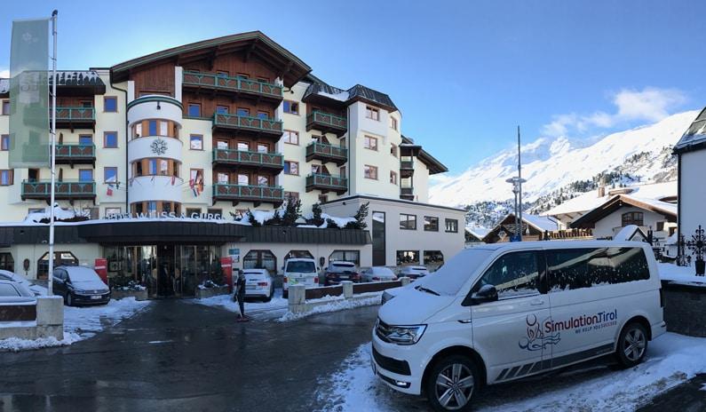 Simulation Tirol Hotel Schulung
