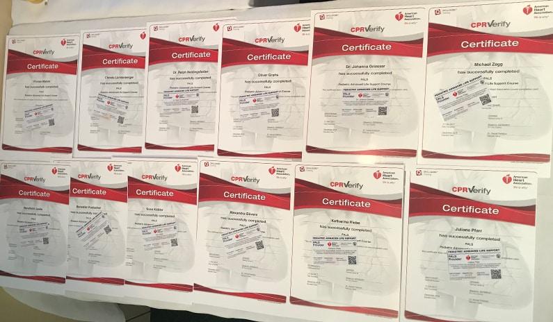 PALS Provider Zertifikate