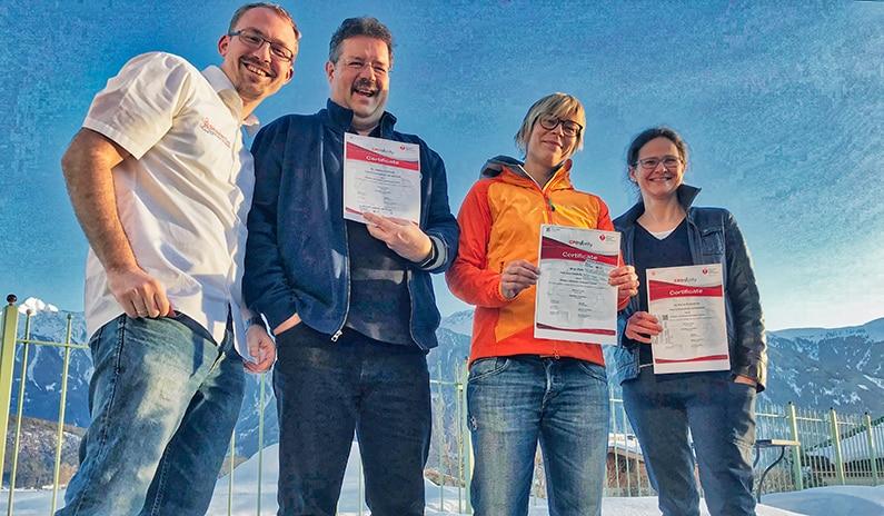 Die besten Fotos vom coolsten PALS Kurs – Kaiserwetter und gute Laune in Tirol