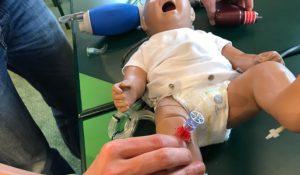 intraossar baby