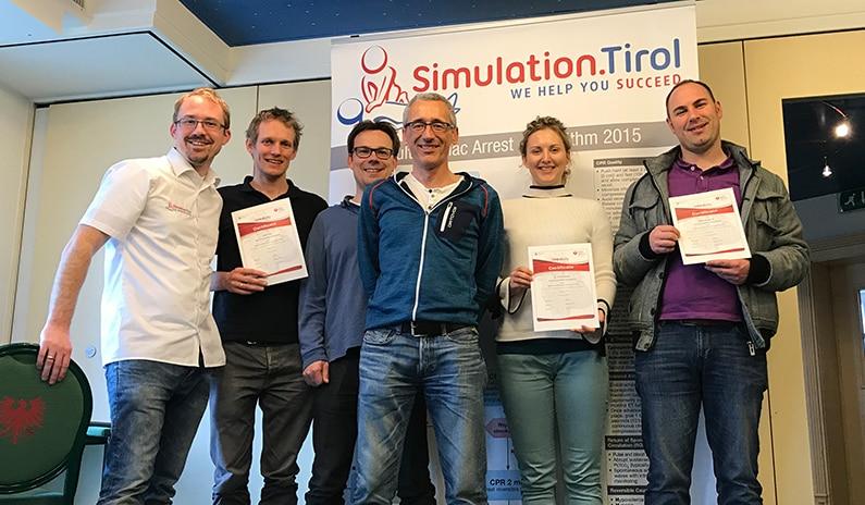 Fotos und Evaluierungen vom ACLS Kurs aus Tirol – wir sagen Danke fürs Kommen!