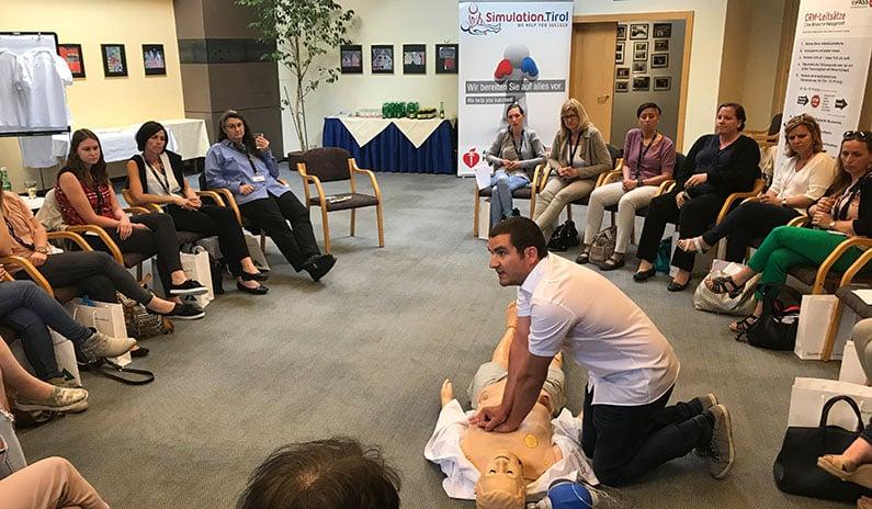 Fotos und Evaluierungen vom Augenarzt-Kongress in Schladming