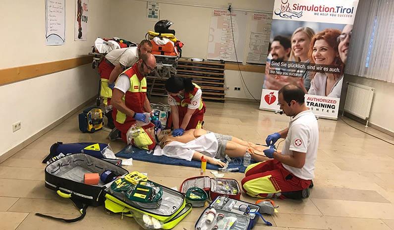 Fotos und Horror-Szenarien vom Trainingstag mit dem Samariterbund NÖ