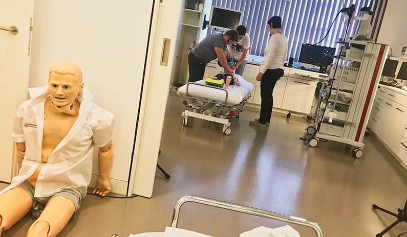 endoskopie notfalltraining