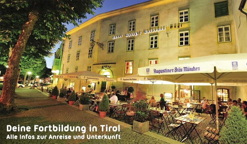Deine Fortbildung in Tirol – Wo kannst du schlafen? Wo kannst du parken?