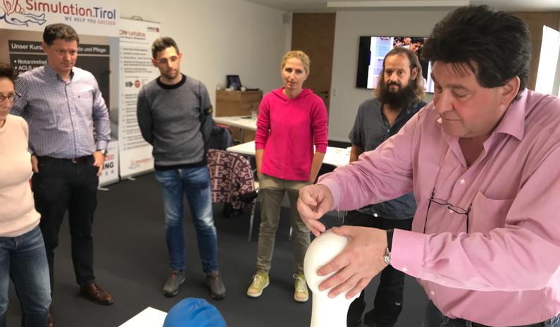 Akupunktur-Kurs in der Rettungsmedizin mit Dr. Thomas Schockert