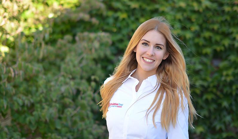 Unsere neue Mitarbeiterin Francesca Martinez stellt sich vor
