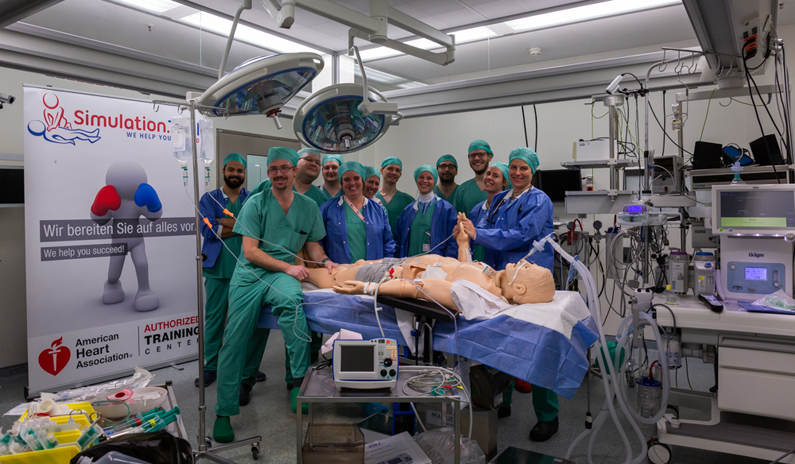 Gruppenbild Klinik München