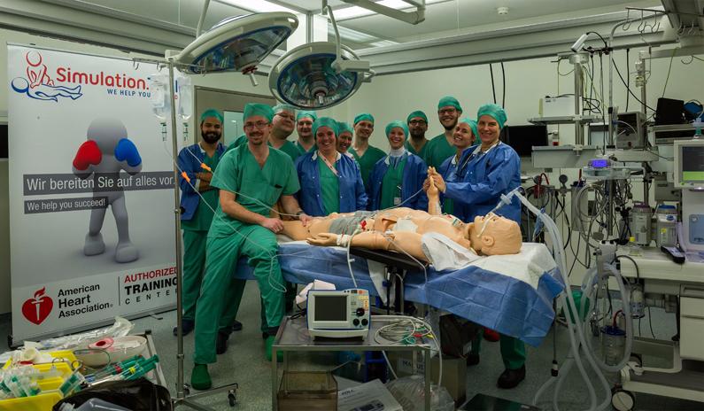 Anästhesie Notfall-Kurs in der München Klinik Bogenhausen