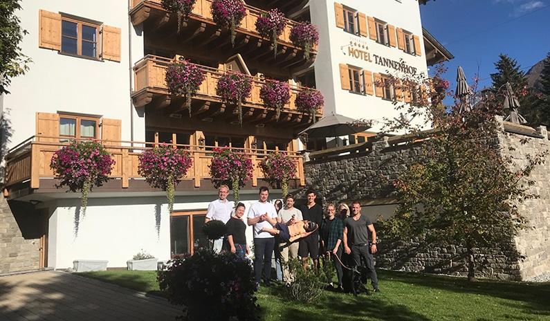 Simulation.Tirol zu Gast bei Hotel Tannenhof ***** superior