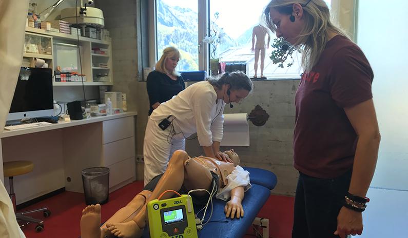 Defibrillator AED 3 Zoll