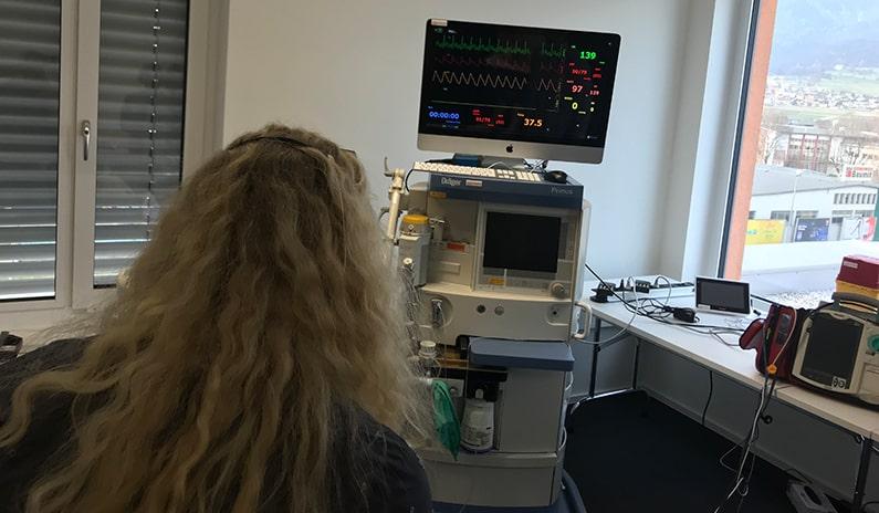 Schrittmacher EKG