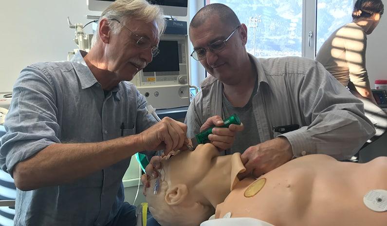 schwierige intubation