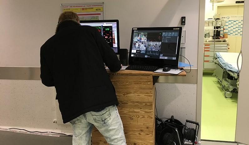 ferngesteuerte Simulation