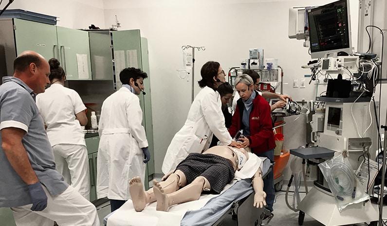 Unser Schockraum-Training in der Notaufnahme in Sterzing