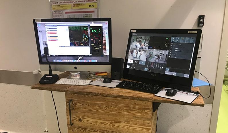 sim station