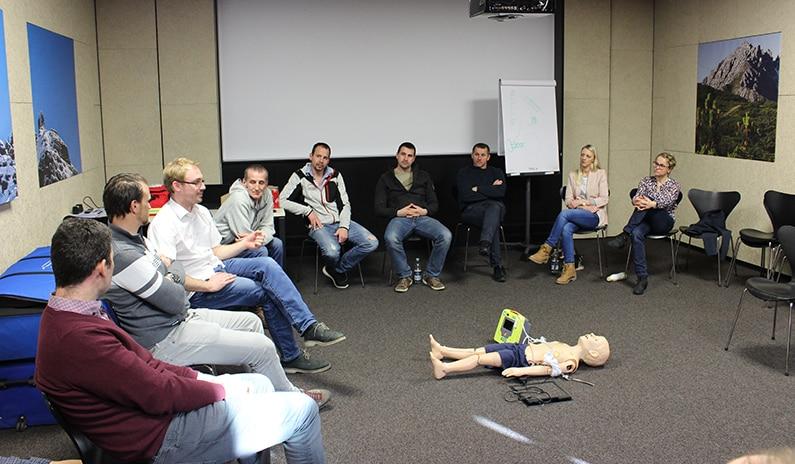 kind bewusstlos notfall training