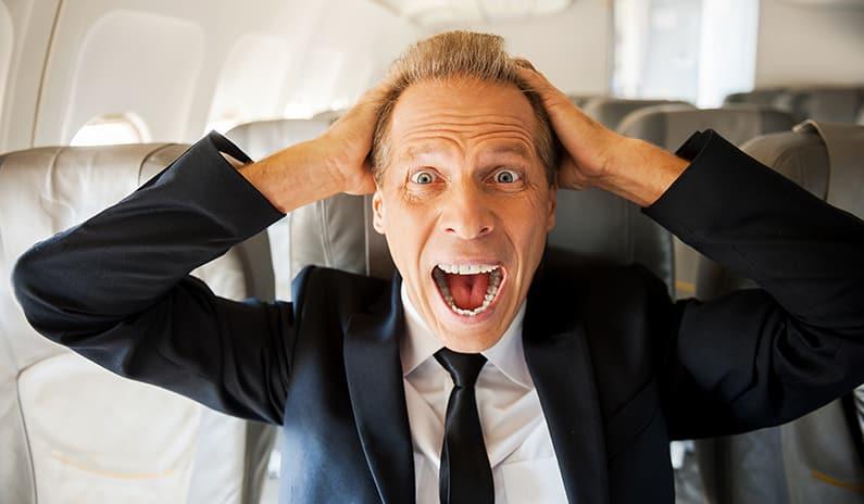 Medizinischer Notfall im Flugzeug – der Alptraum eines jeden Arztes – was nun?