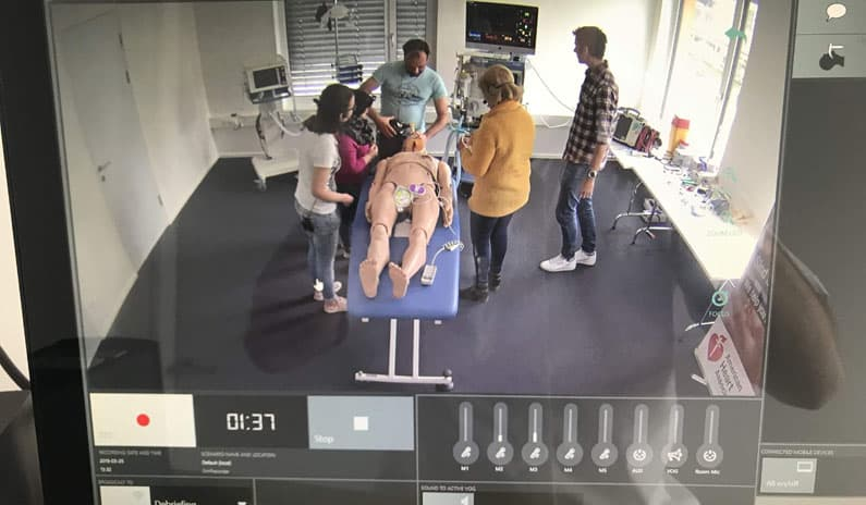 Fotos und Evaluierungen vom Sedierungsnotfall-Kurs in Tirol