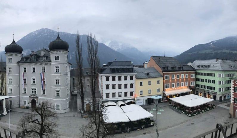 Osttirol Altstadt Winterwonderland