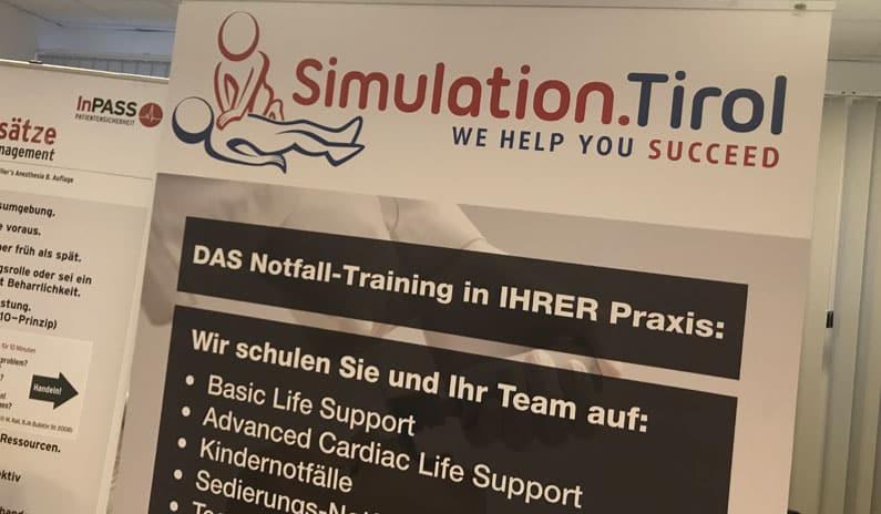Poster Simulation Tirol