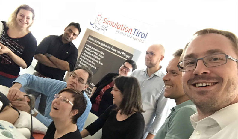 Training Regionalanaesthesie Simulation Tirol