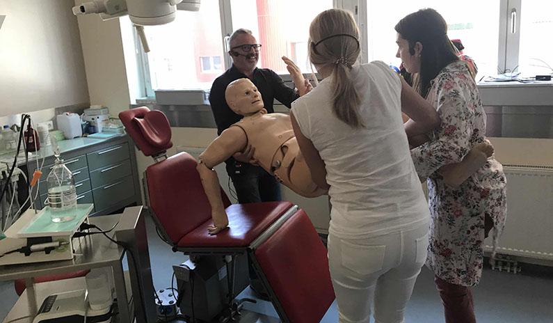 Notfalltraining bei DDr. Goldmann in Steyr – Fotos und Evaluierungen