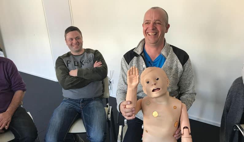 Erste Hilfe Schulung für die Firma Mussmann AG aus Tirol