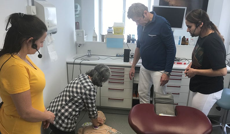 reanimation zahnarztpraxis