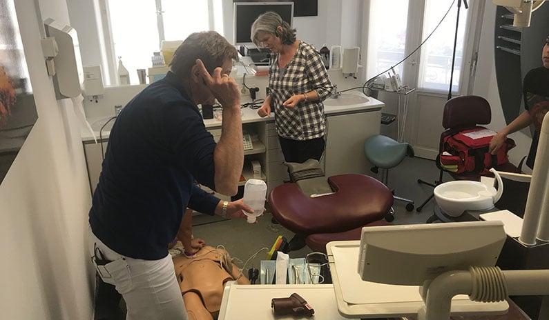 teamarbeit medizinischer notfall