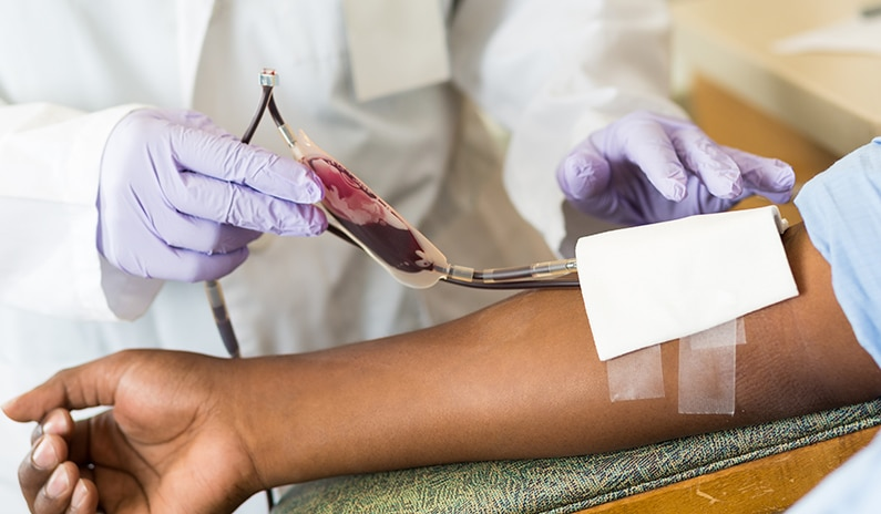 bluttransfusion optimiert