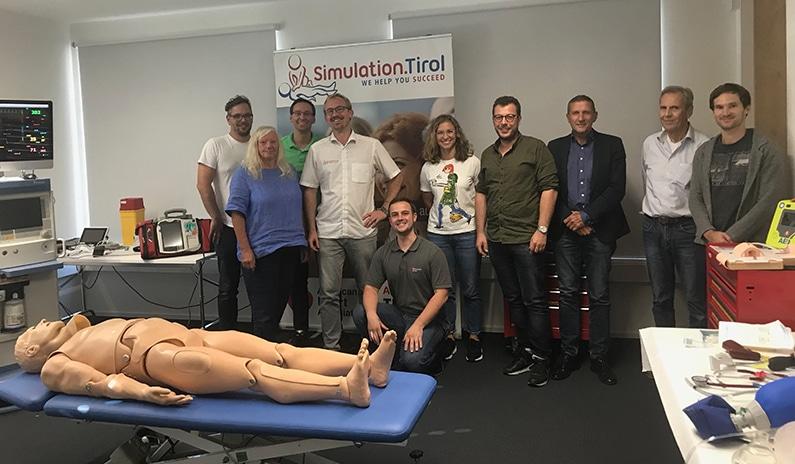 Unser ACLS Kurs in Hall in Tirol vom September – Fotos und Evaluierungen