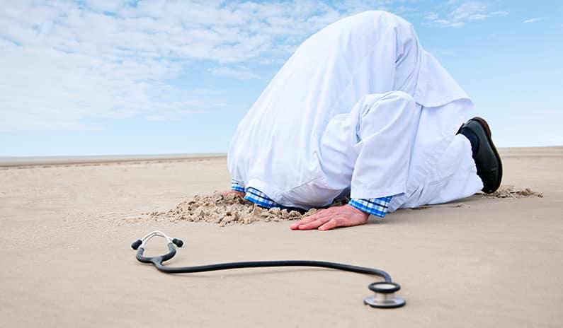 HILFE – die Sauerstoffsättigung sinkt! Nicht gleich eingraben! Sondern kämpfe!