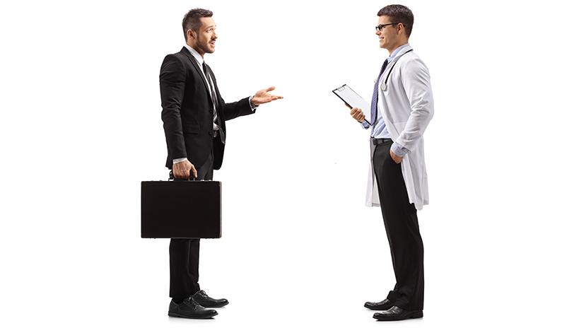 Ärzte sind die schlechtesten Verkäufer auf Mutter Erde – warum?