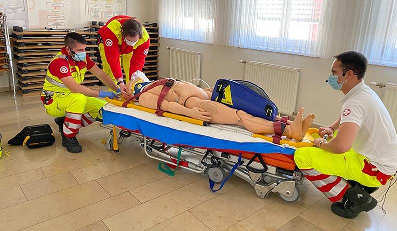 Erstes Notfalltraining mit dem Samariterbund Niederösterreich im Juli!
